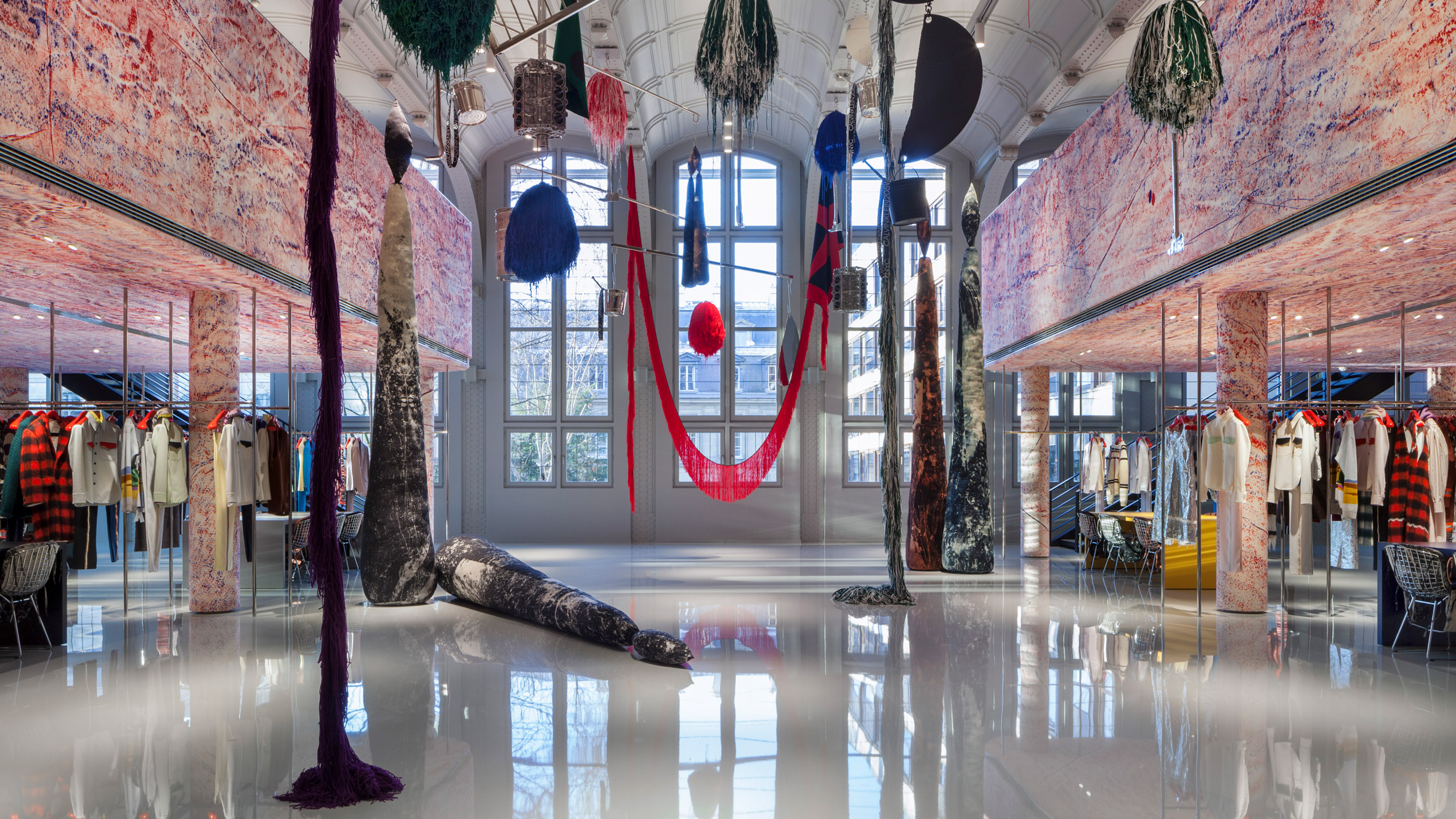 Calvin Klein opens Paris HQ with interiors created by Sterling Ruby   Dezeen