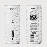 London Zoo swaps plastic water bottles for aluminium cans designed by Christopher Raeburn
