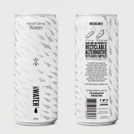 London Zoo swaps plastic water bottles for cans designed by Christopher Raeburn