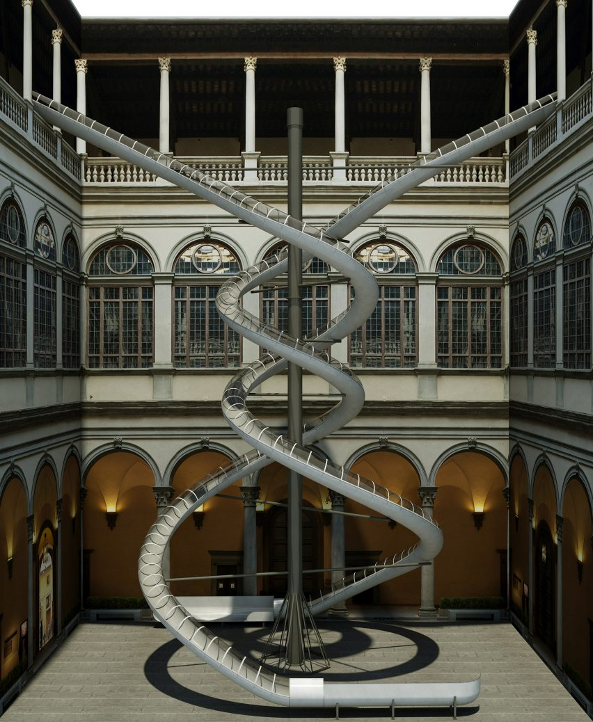 Carsten Holler slides