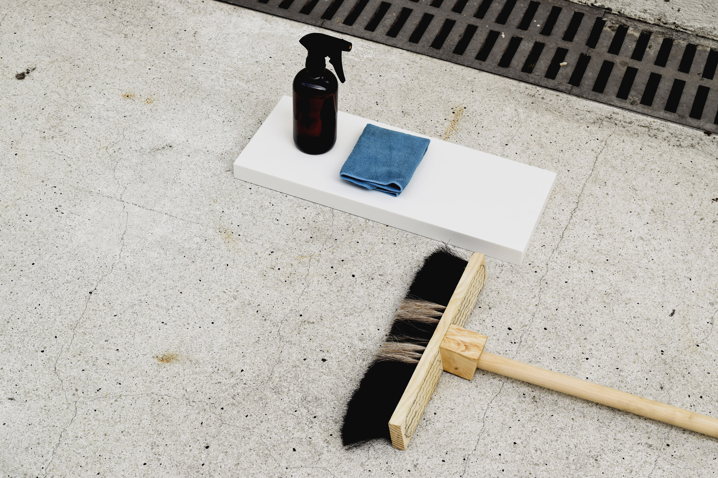 Soley Thrainsdottir creates sustainable cleaning tools using natural waste materials