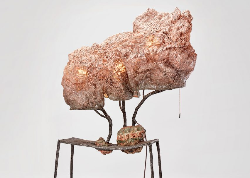 Nacho Carbonell expands cocoon lamp collection for New York's Armory Show