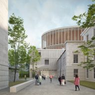 David Chipperfield reveals visuals of new Edinburgh concert hall
