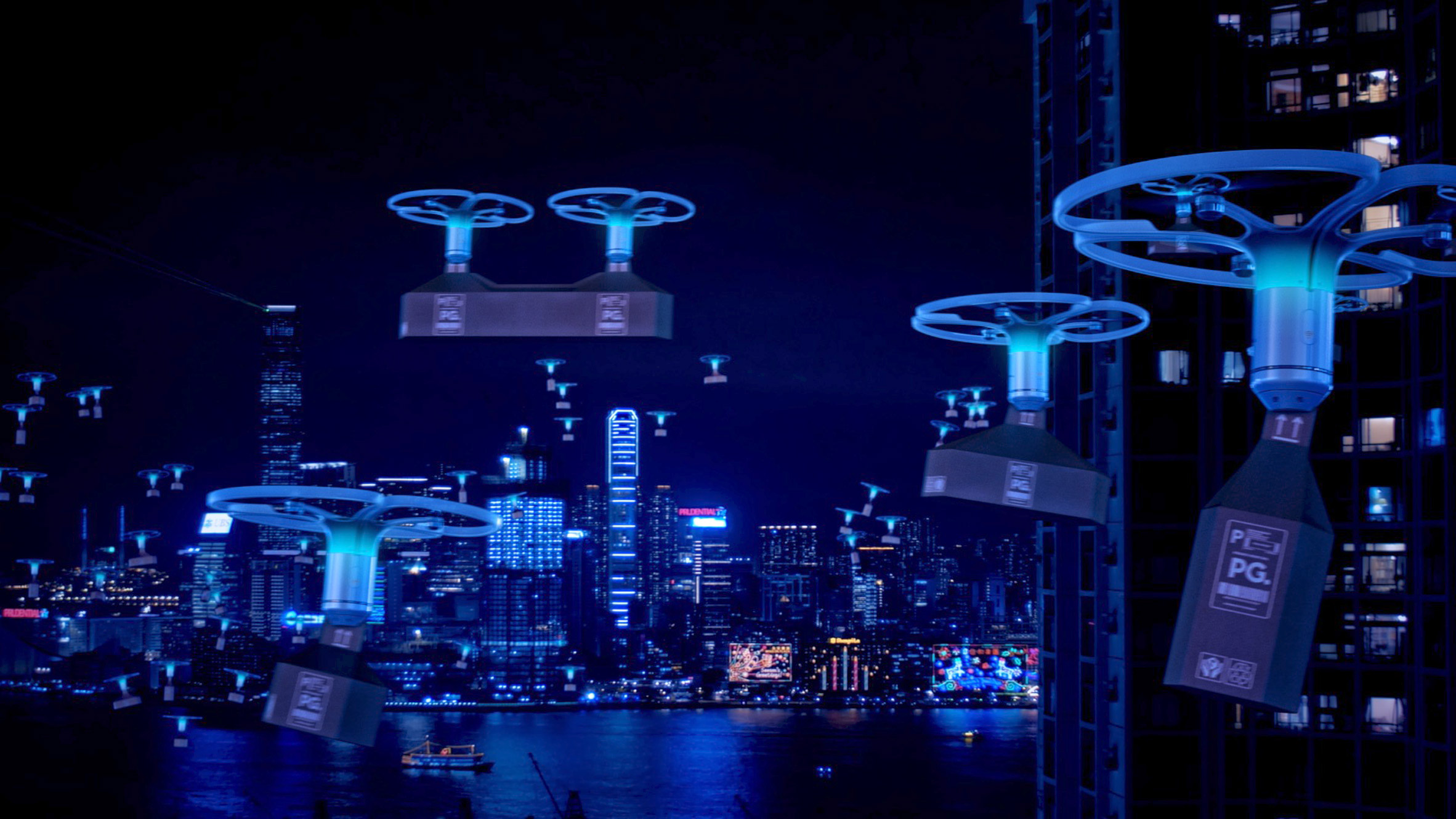 Elevation – how drones will change cities - dezeen.com