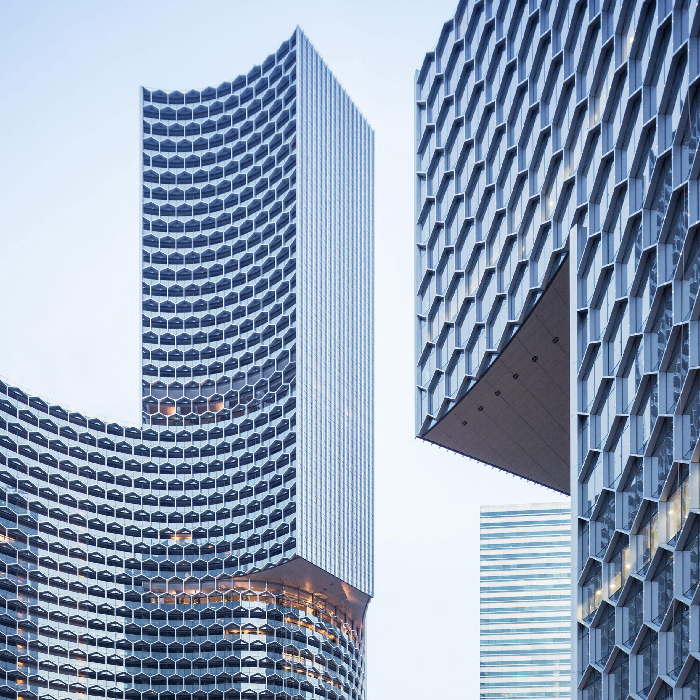 Top 10 skyscrapers: Duo, Singapore, by Büro Ole Scheeren