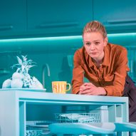 Es Devlin creates blue-hued set for Girls & Boys play starring Carey Mulligan