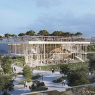 Eight buildings proposed for BIG's EuropaCity development near Paris