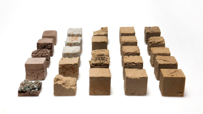 Finite alternative concrete made from desert sand