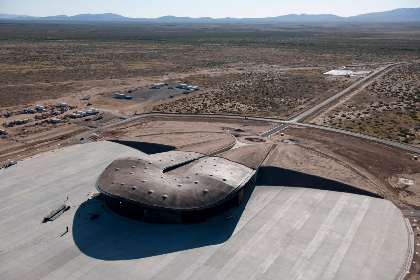 Foster + Partners spaceport in New Mexico