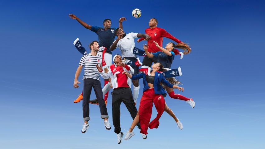 1e635757ab2 Nike's World Cup 2018 kits for France are designed to