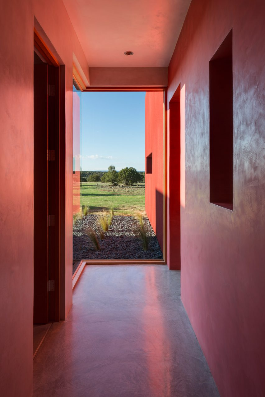 Galisteo Basin Preserve Residence by Archaeo