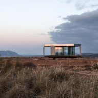 OFIS Arhitekti's Glass Pavilion is a star-gazing retreat in Spain's Gorafe desert