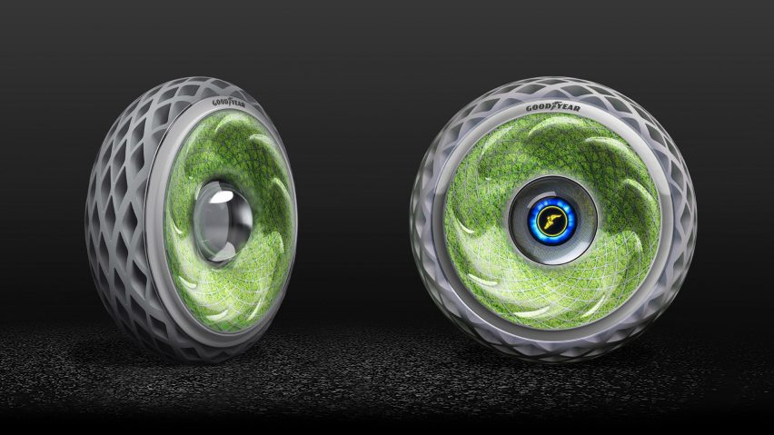 Goodyear S Living Car Tyre Converts Carbon Dioxide Into Oxygen