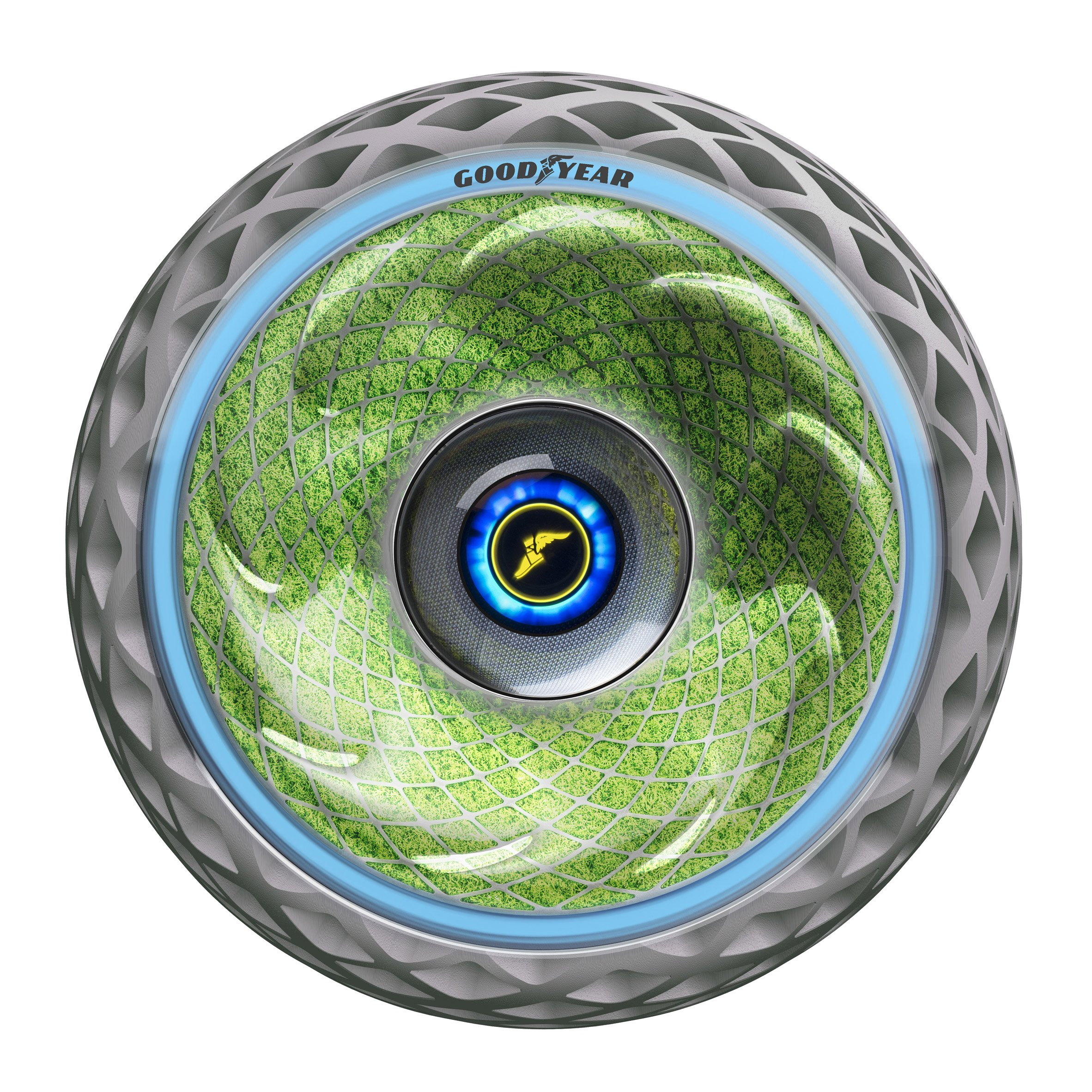 "Goodyear's ""living"" car tyre converts carbon dioxide into oxygen"