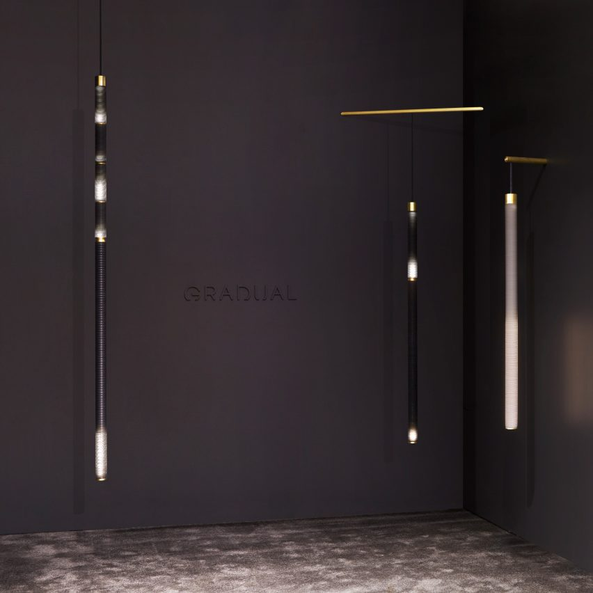 Gradual lighting at Collective Design 2018