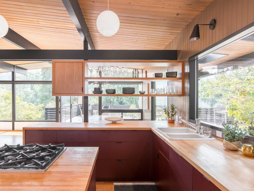 Hillside Midcentury By SHED Architecture U0026 Design