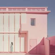Wutopia Lab's pink and blue houses explore ideas of masculine and feminine