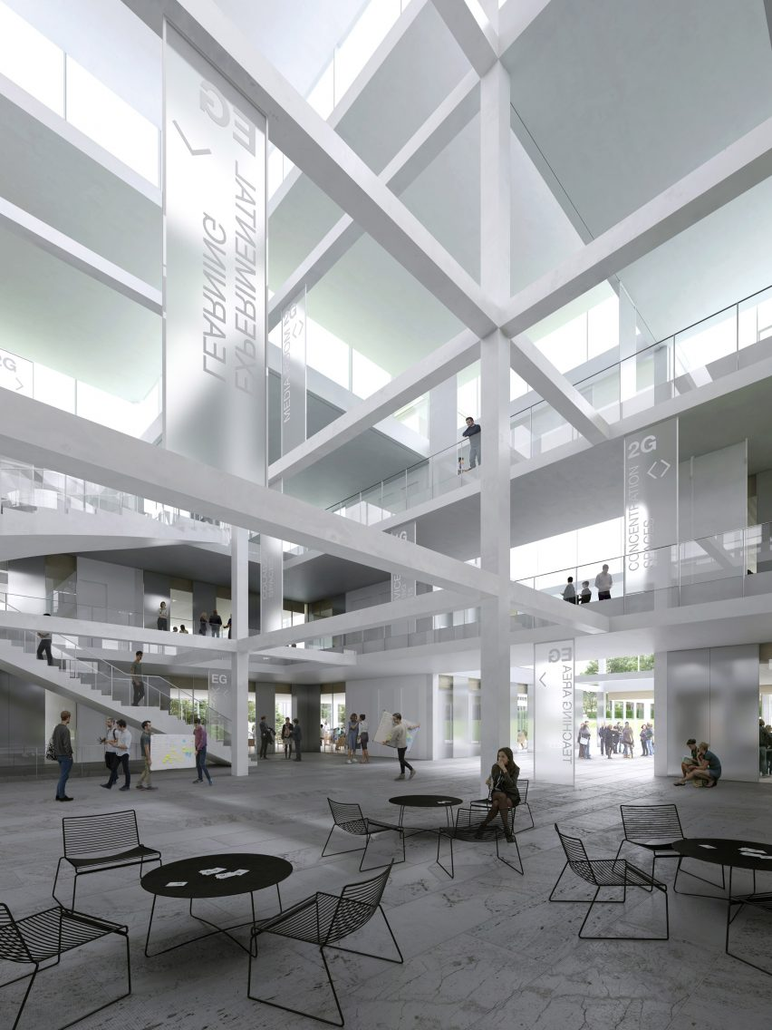 Sou Fujimoto designs university learning centre made from