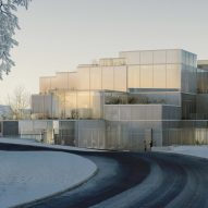 Sou Fujimoto unveils designs for Swiss university centre made of stacked cubes