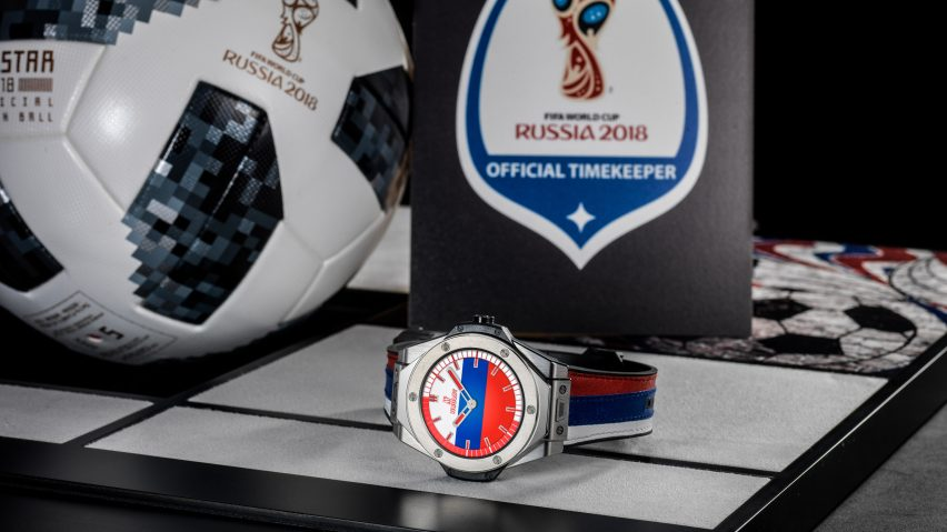 25cb34778 Hublot s first smartwatch to be used by referees at World Cup 2018
