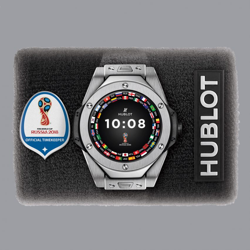 Hublot's first smartwatch to be used by referees at World Cup