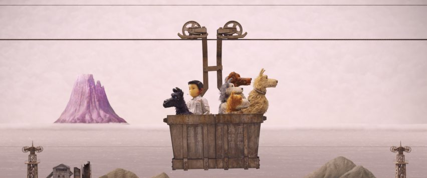 Wes Anderson's Isle of Dogs film is inspired by Metabolism.