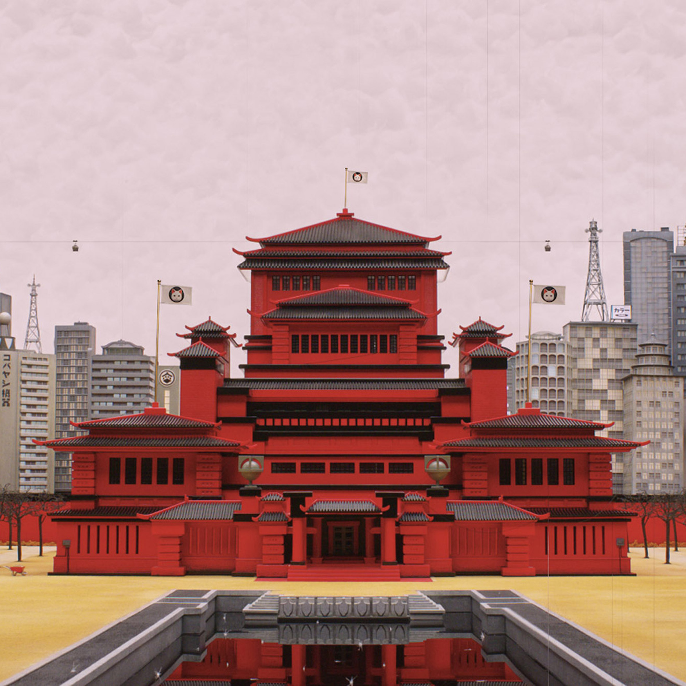 Dezeen interviewed the production designer from Wes Anderson's Isle of Dogs