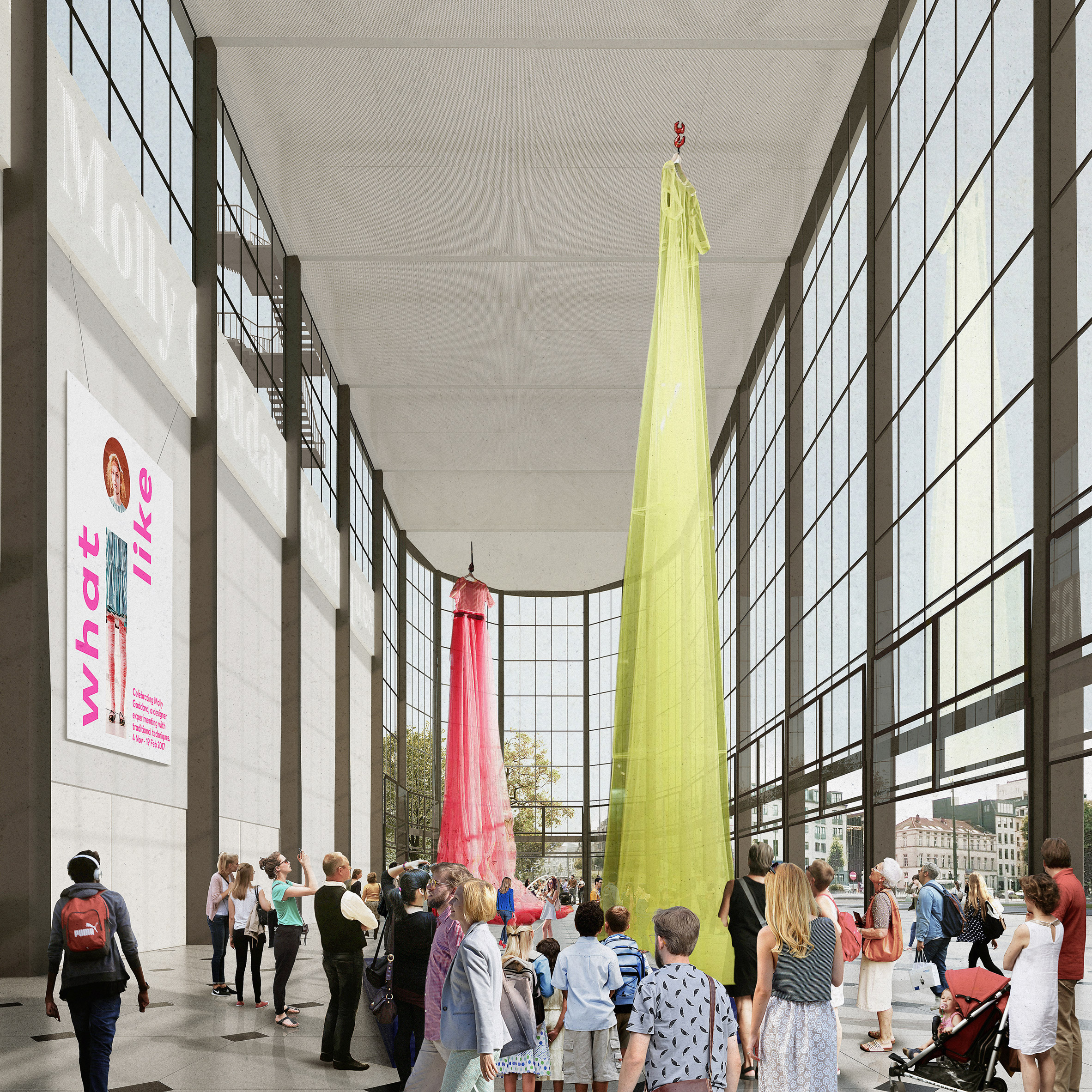 Former car factory to be transformed into Pompidou Centre Brussels