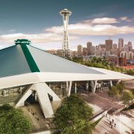 Populous unveils renovation plans for modernist Seattle stadium