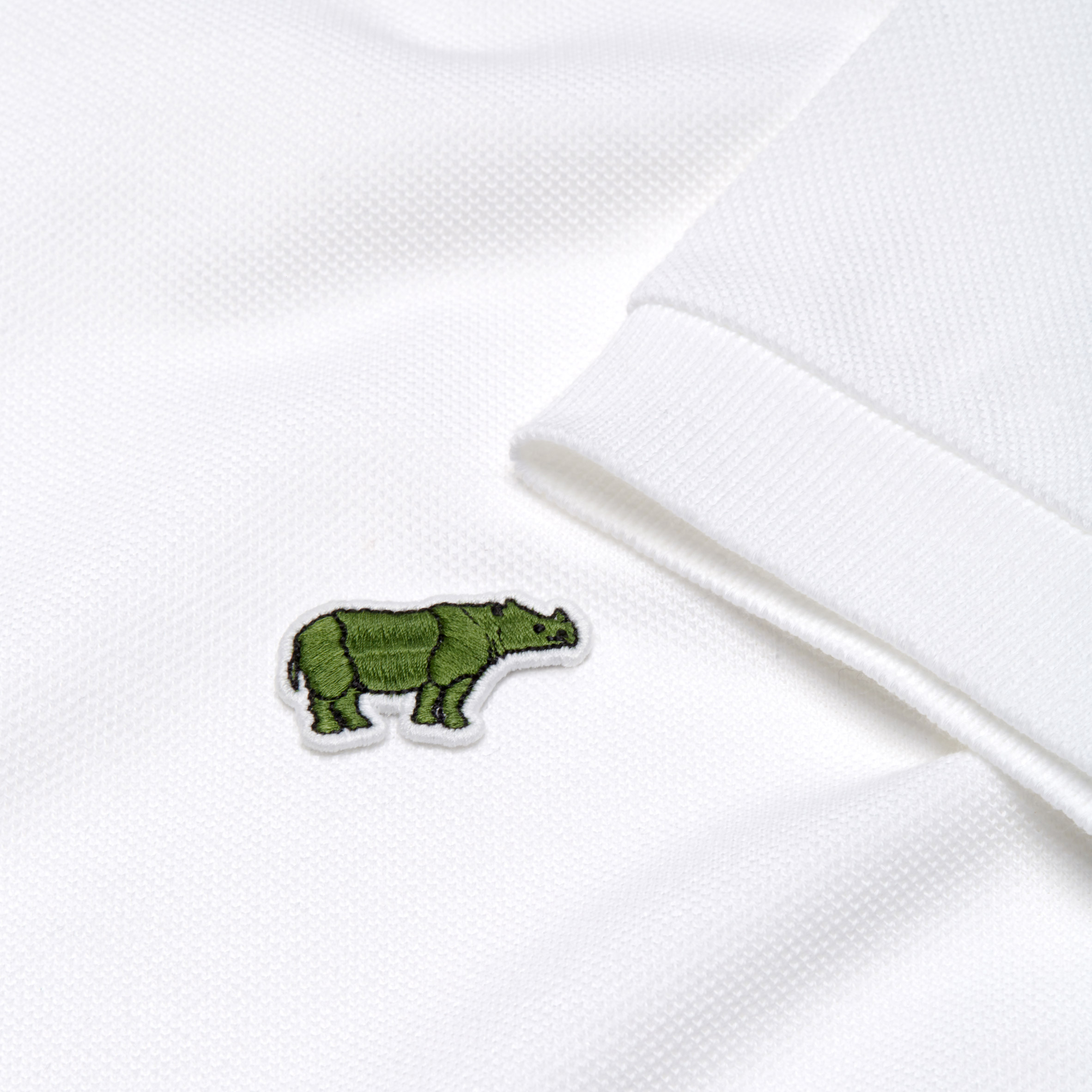 Lacoste's crocodile logo is replaced by endangered species for limited edition polo shirts