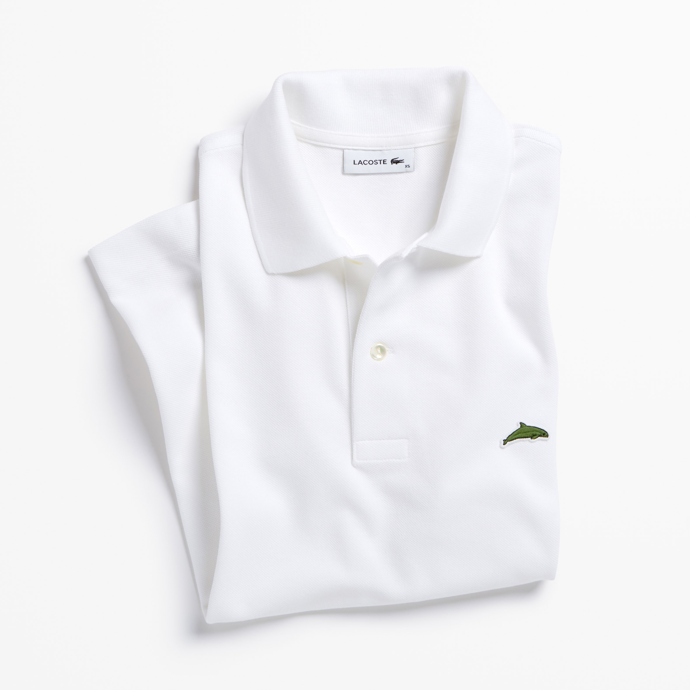 77cb2fcca Lacoste's crocodile logo is replaced by endangered species for limited  edition polo shirts ...