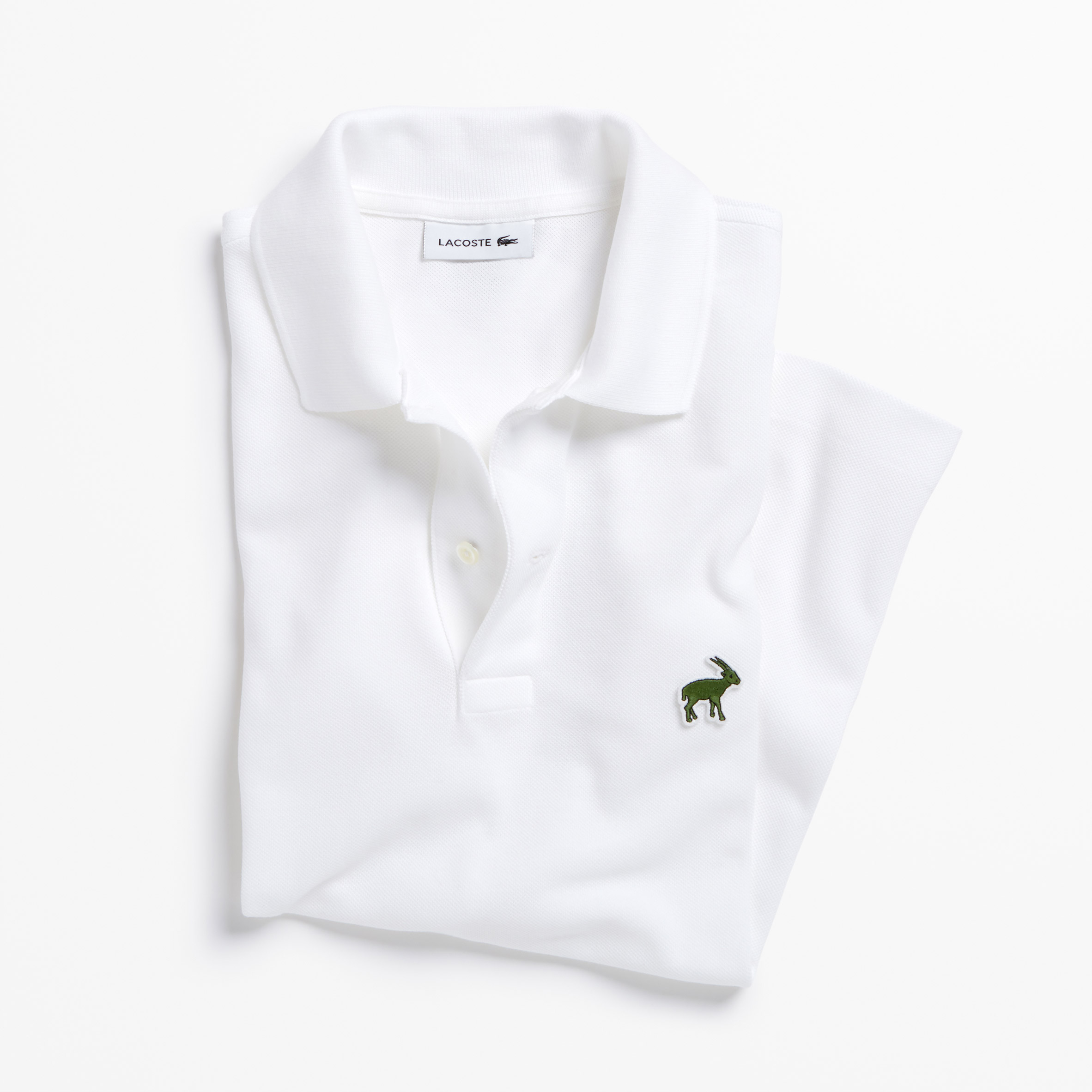 0c0116503a ... Lacoste's crocodile logo is replaced by endangered species for limited  edition polo shirts