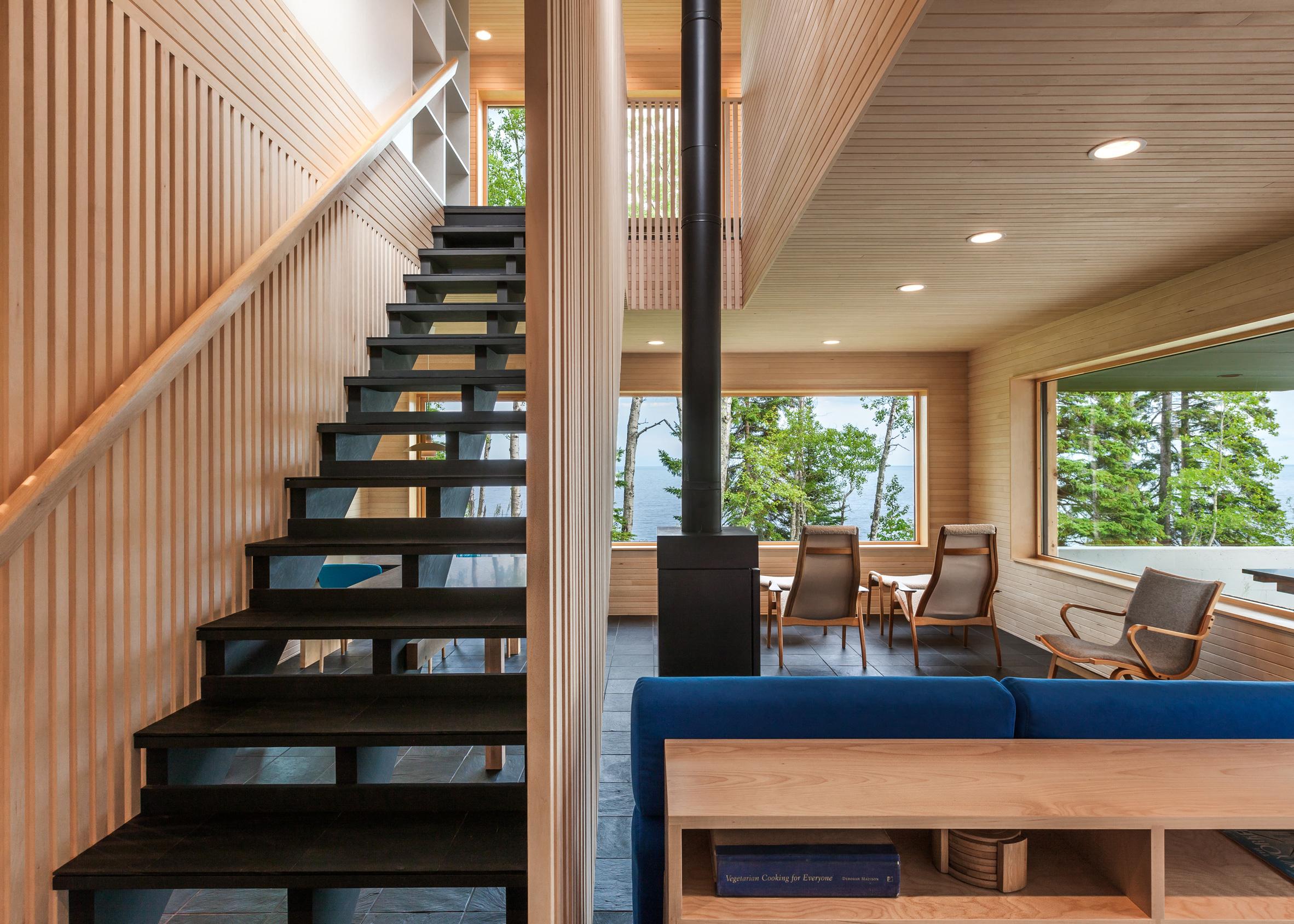 Larson Bergquist Residence by Salmela Architect