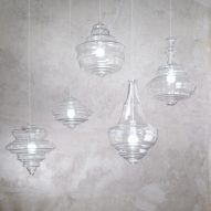 Lasvit creates minimalist versions of traditional chandeliers