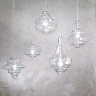 Lasvit creates minimalist versions of traditional chandeliers