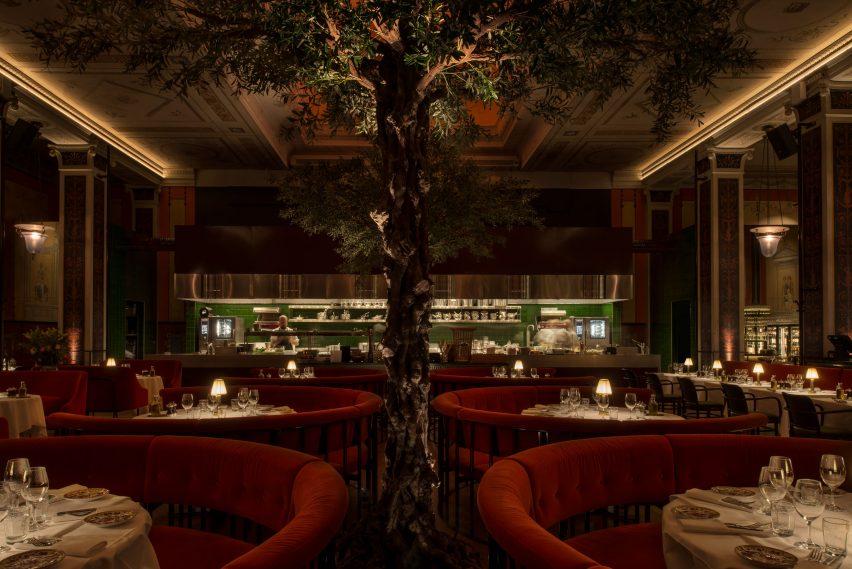L'Avventura restaurant by Millimeter Arkitekter