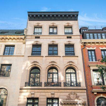 Manhattan townhouses
