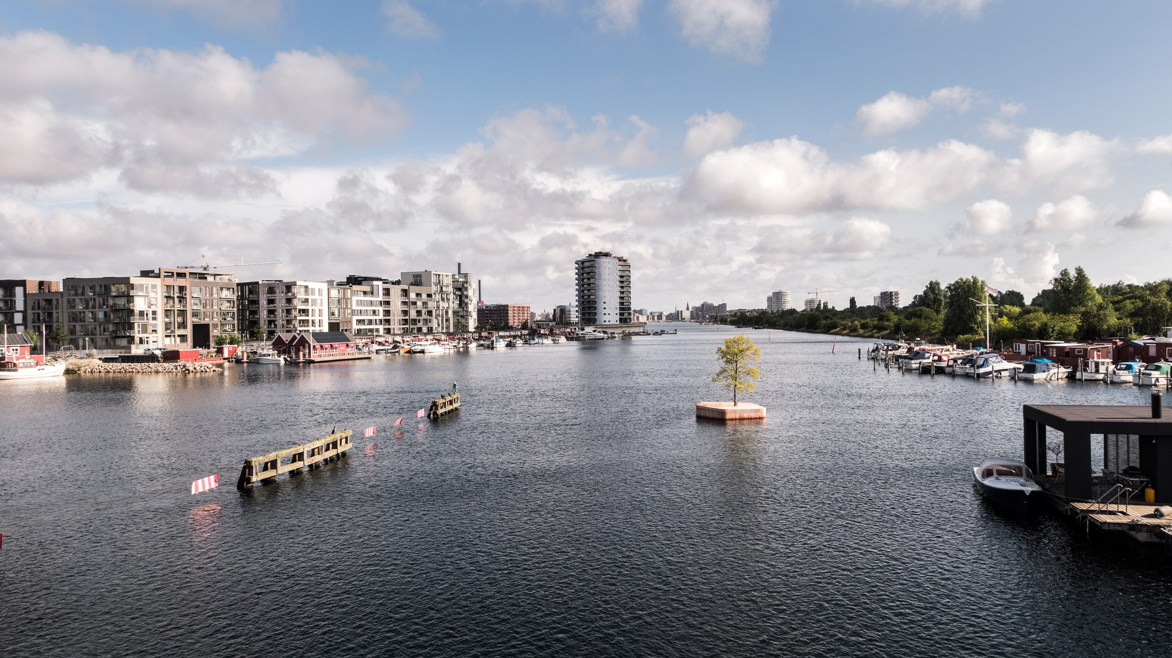 Marshall Blecher and Magnus Maarbjerg Copenhagen floating island