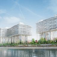 "Herzog & de Meuron reveals plans for ""horizontal skyscrapers"" in Moscow"
