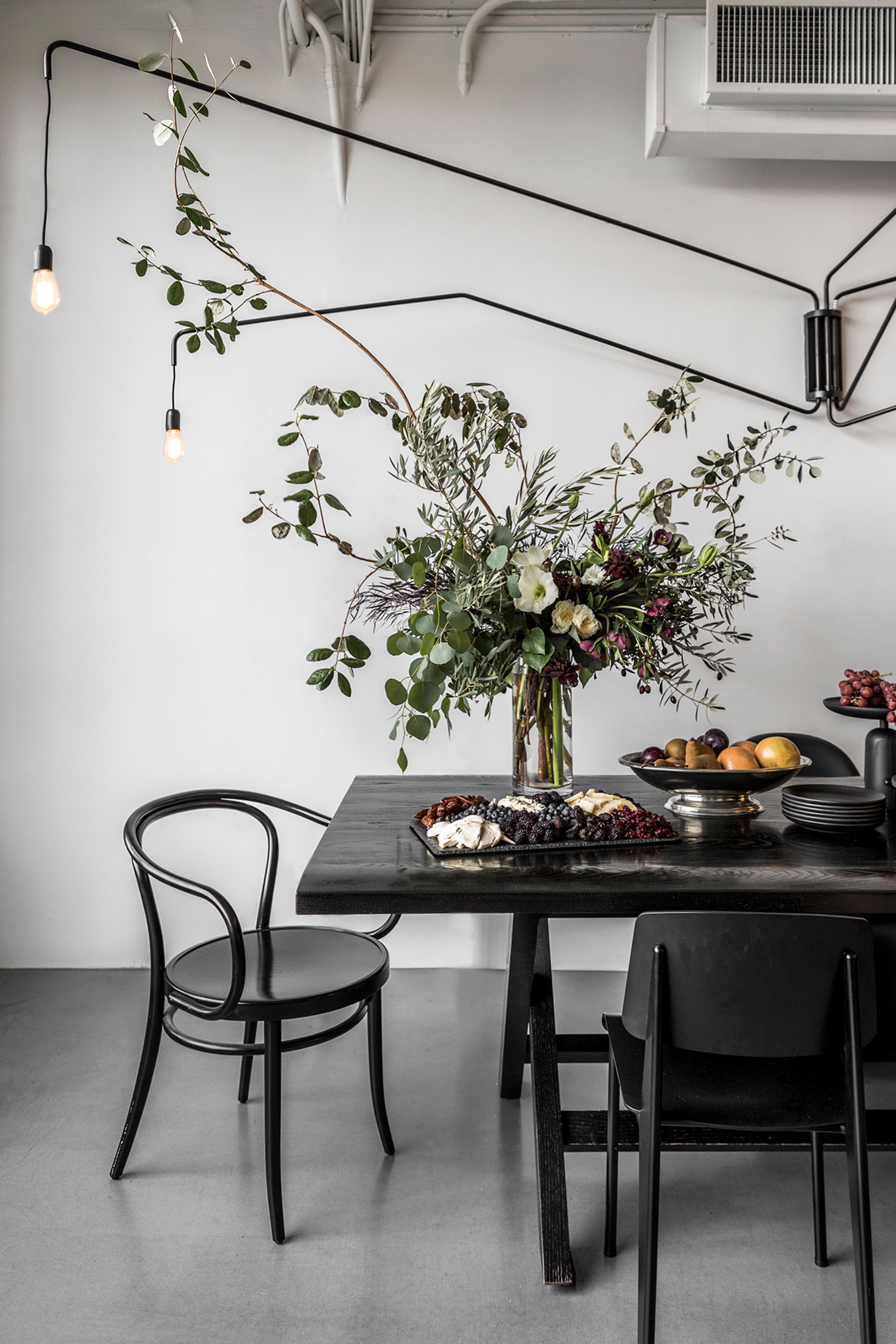 Self-designed office by Nicole Hollis studio