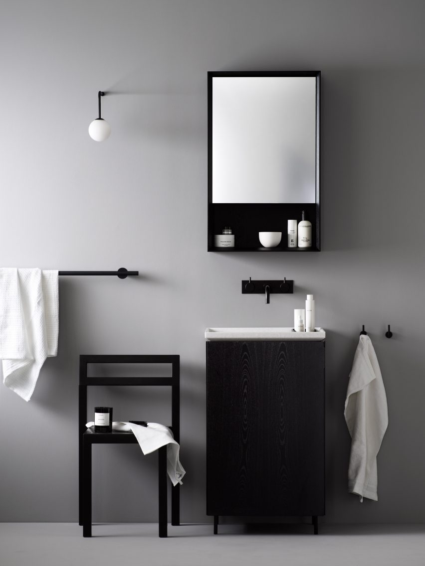 Norm Architects Create Bathroom Collection For Small Space Living