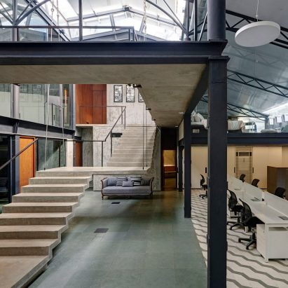 architect office interior. Offices In A Converted Warehouse Centre Around Suspended Concrete Staircase Architect Office Interior I