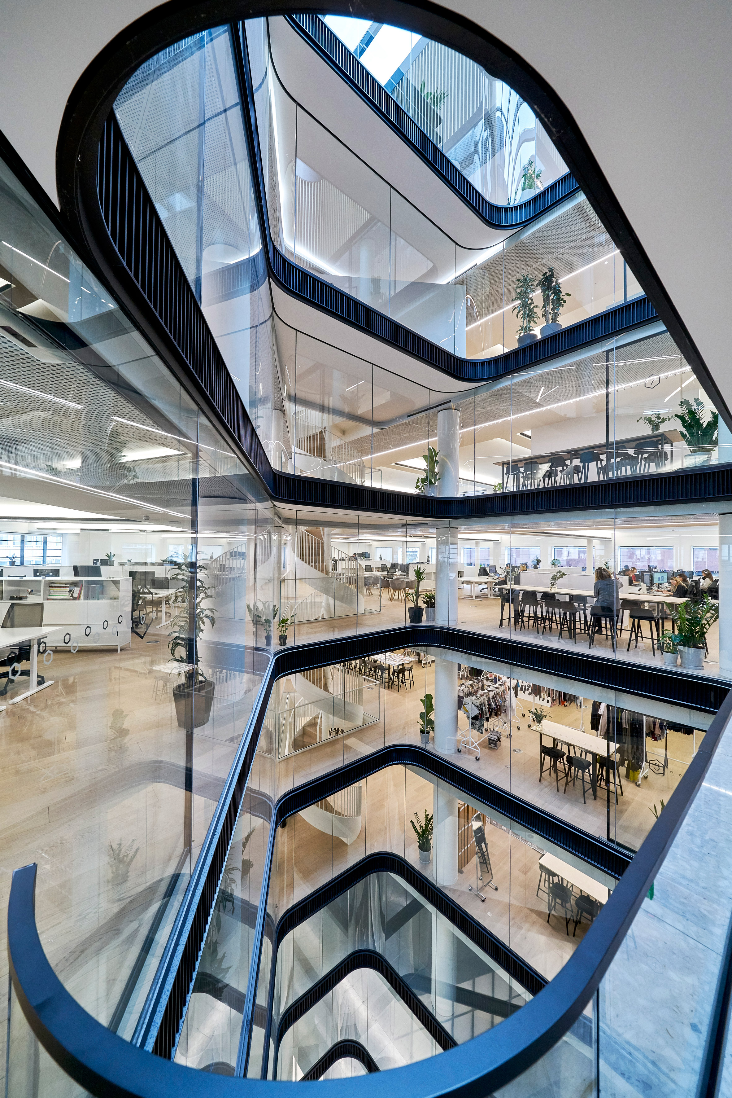 Orms renovates art deco office for fashion brand COS