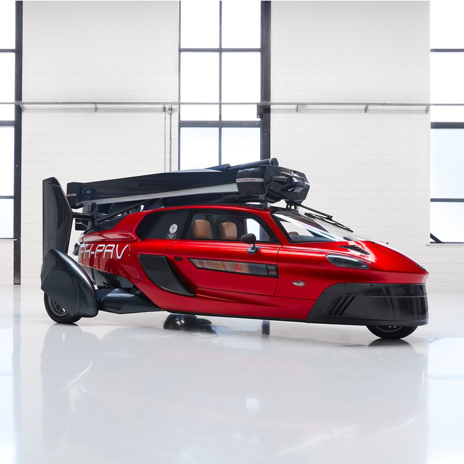 World S First Commercial Flying Car Unveiled At Geneva Motor Show