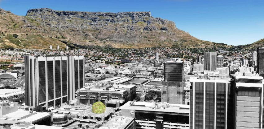 Peter Veenstra LOLA Architects Luthuli Plaza Dome Cape Town