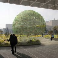 Peter Veenstra to build dome of plants at Design Indaba venue in Cape Town