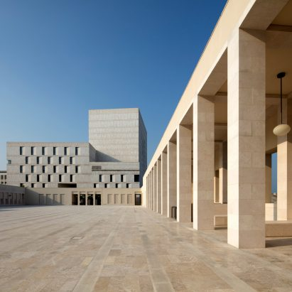 Qatar National Archive by Allies and Morrison