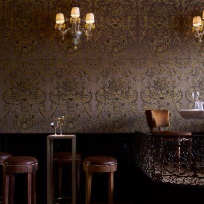 Philippe Starck Restores Time Worn Interiors Of The Quadri Restaurant In  Venice