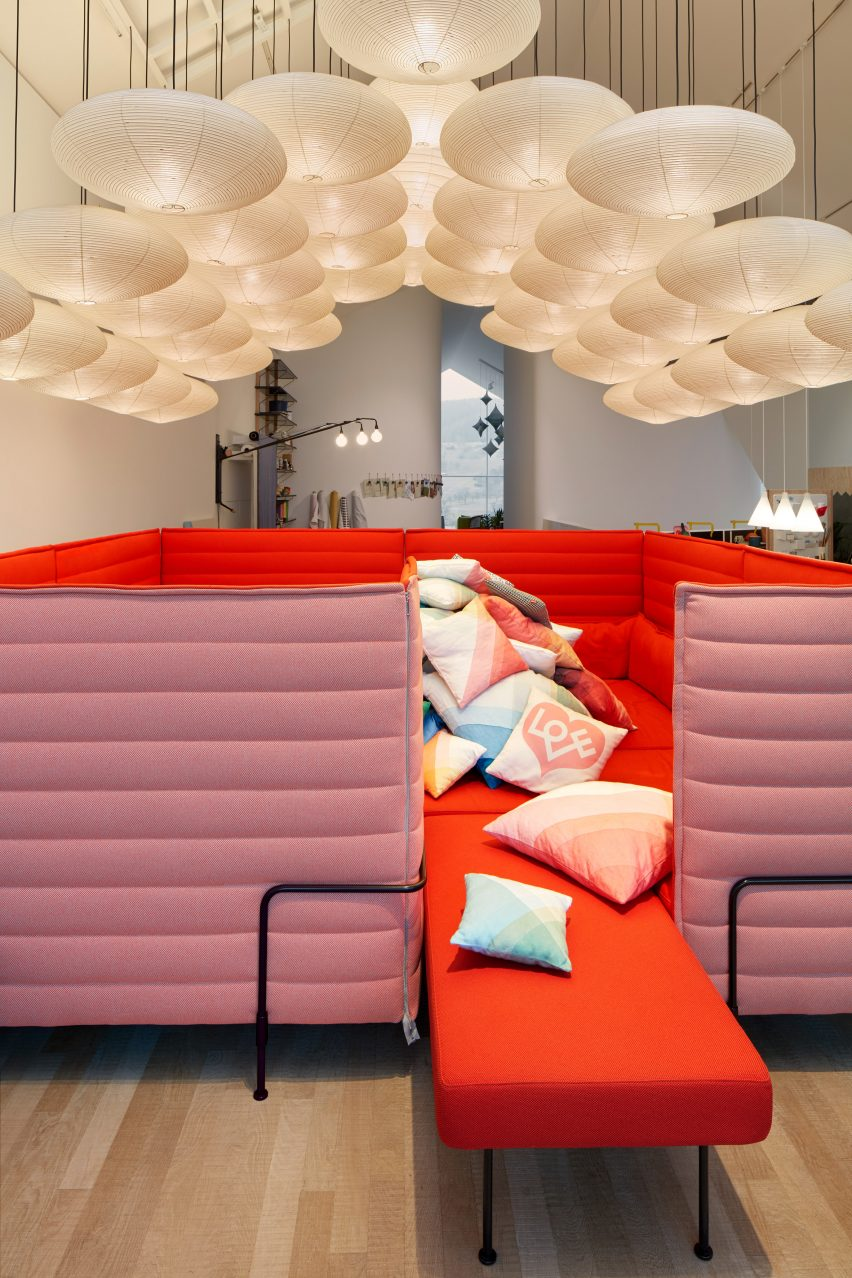 When invited by vitra to redesign the interior raw edges headed by israeli designers yael mer and shay alkalay said they wanted to create a space that