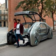 Renault unveils driverless Uber-style transport system